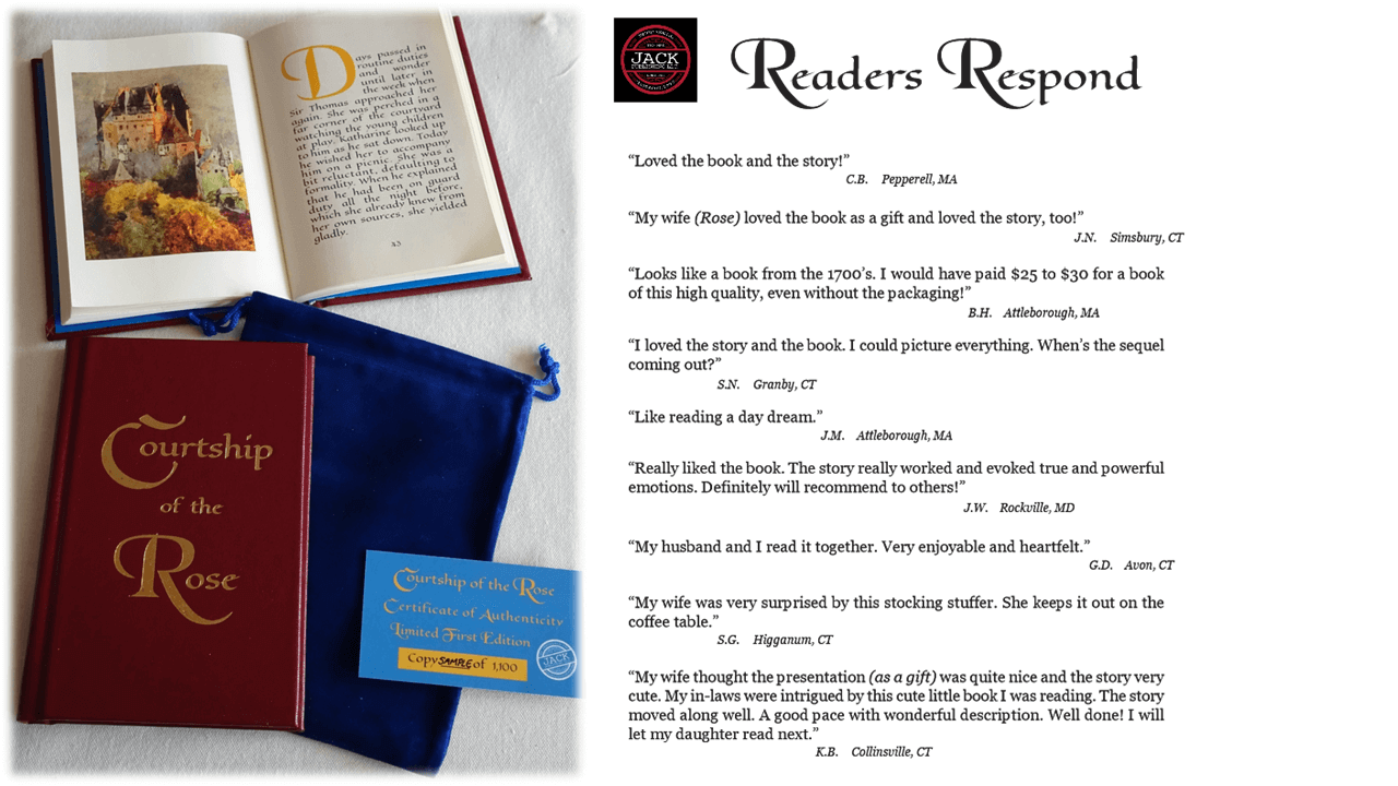 Readers Respond page